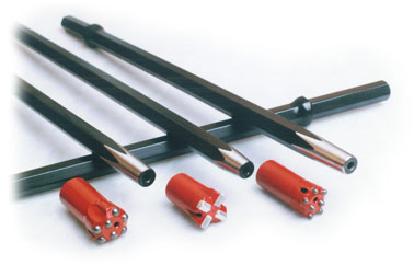 Rockmore Tapered rods and bits