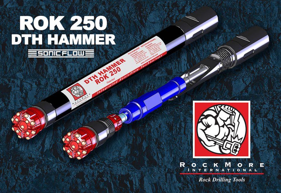 Rockmore ROK 250 DTH hammer