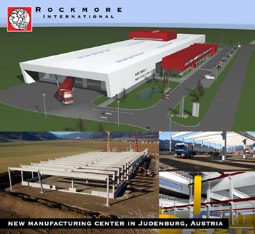 Rockmore Austria manufacturing facility