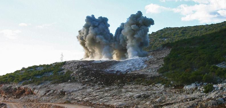 Explosion - Mining equipment