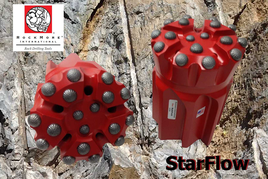 Roclmore StarFlow bit design